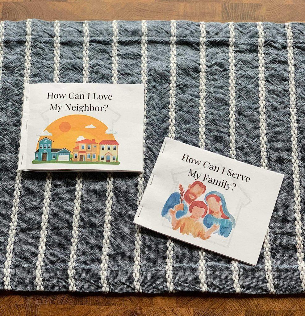 printable mini books for religious studies
