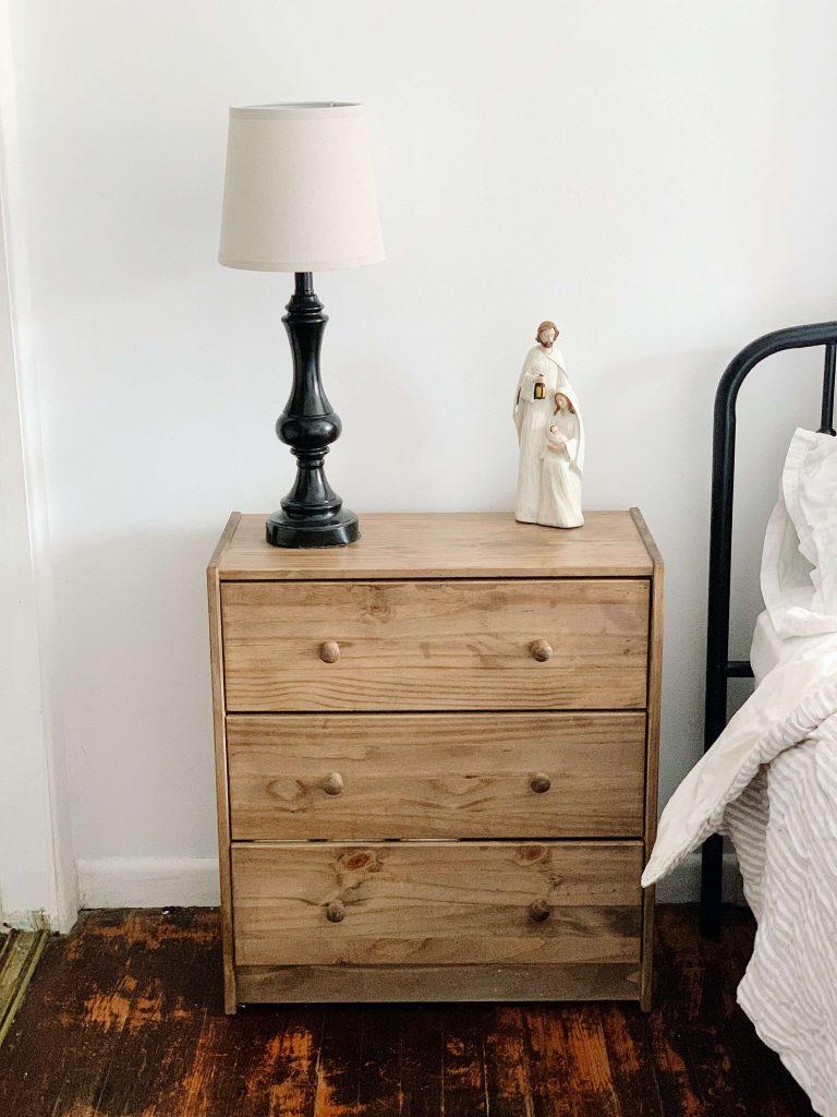 ikea rast drawer nightstand