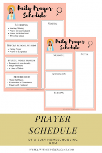 pretty catholic printable daily prayers