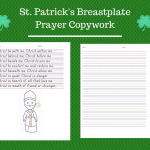 Saint Patrick breastplate prayer