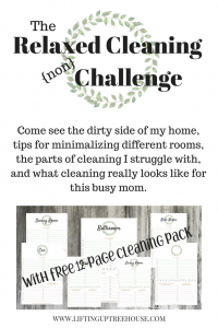 RELAXED CLEANING CHALLENGE
