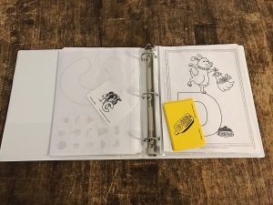 All About Reading Pre Reading binder