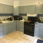 modern farmhouse kitchen on a budget