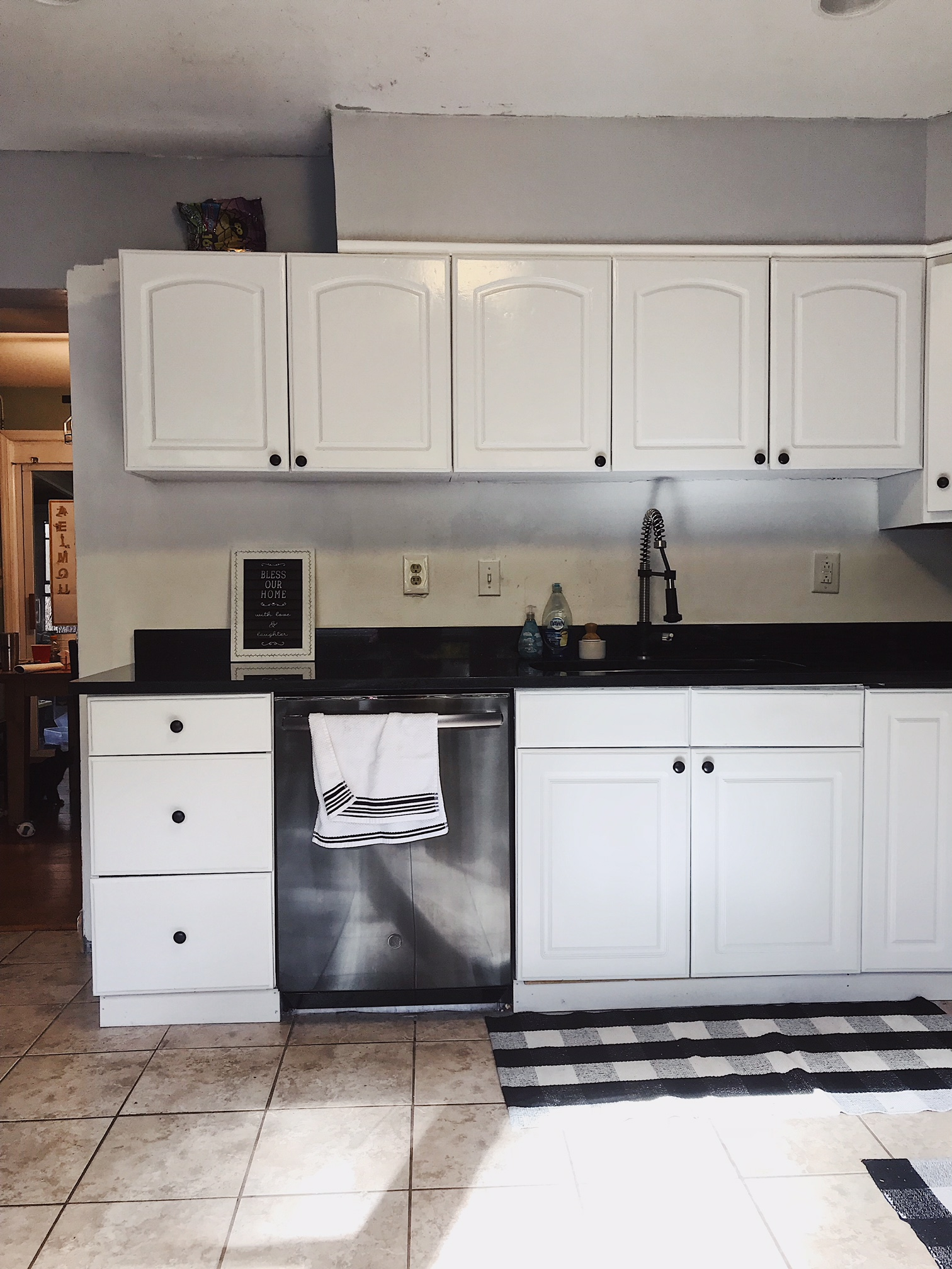 Modern Farmhouse kitchen update on a budget