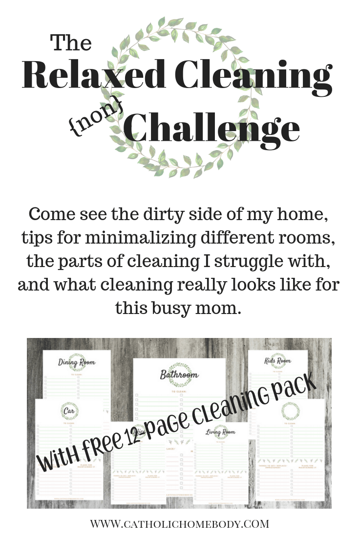 Relaxed Cleaning{non} Challenge