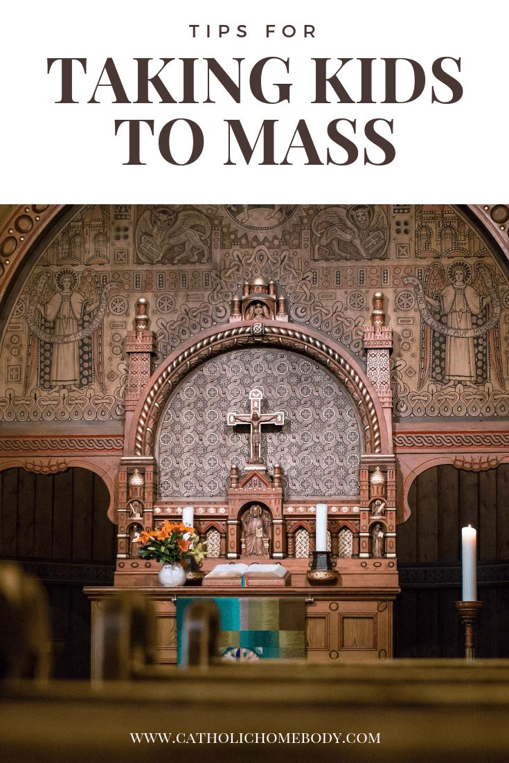 Taking kidsto mass