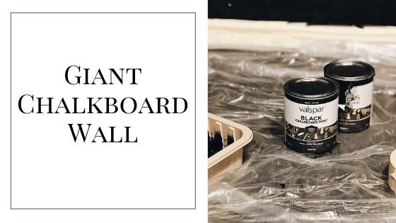 blog chalkboard wall