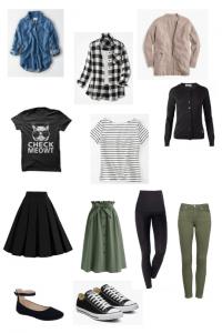 minimalist sahm outfit