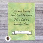 charlotte's web printable