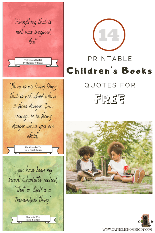 printable watercolor quotes from children books