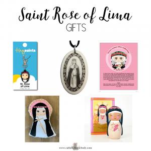 saint rose of lima gift ideas