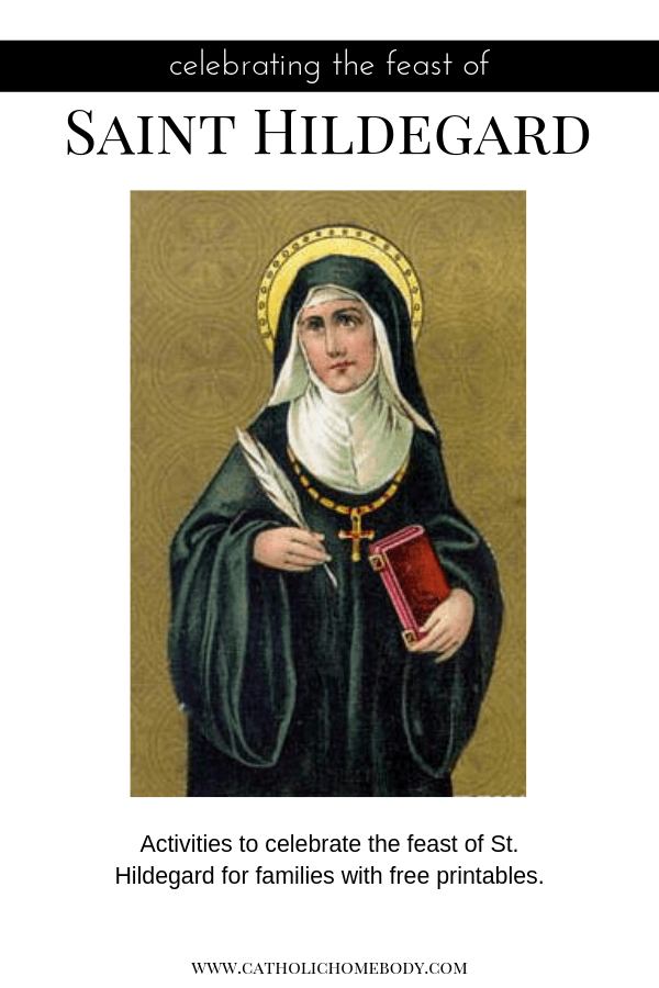 saint hildegard of bingen feast day activities