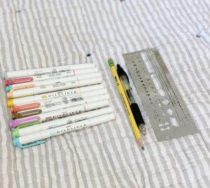 favorite bullet journal supplies