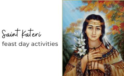 Saint Kateri activities