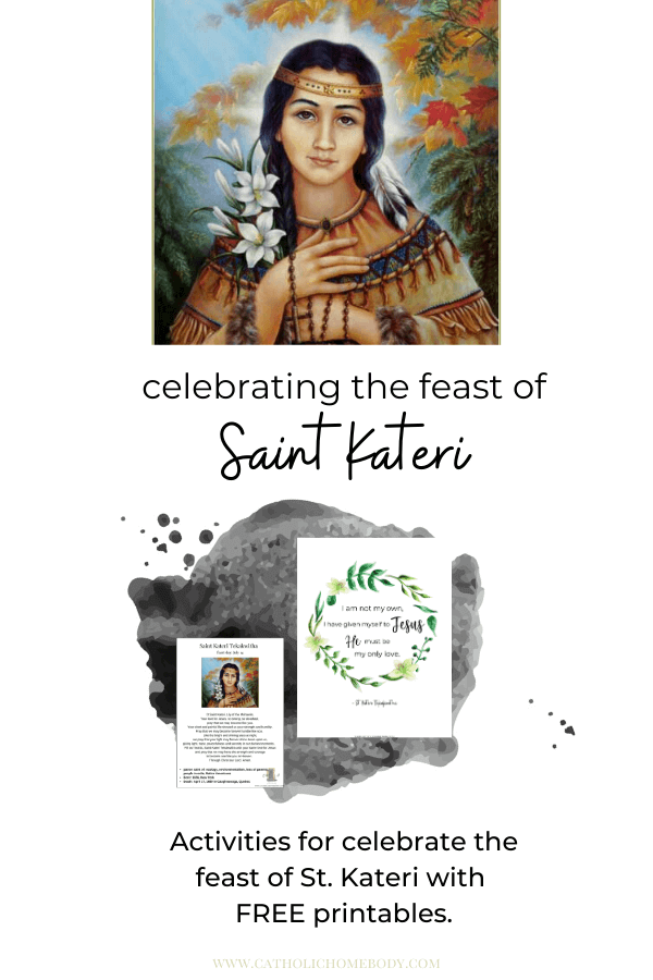 Saint Kateri Activities for Kids