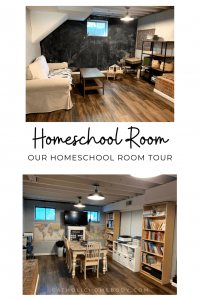 our homeschool room tour
