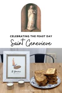 saint genevieve feast day activities