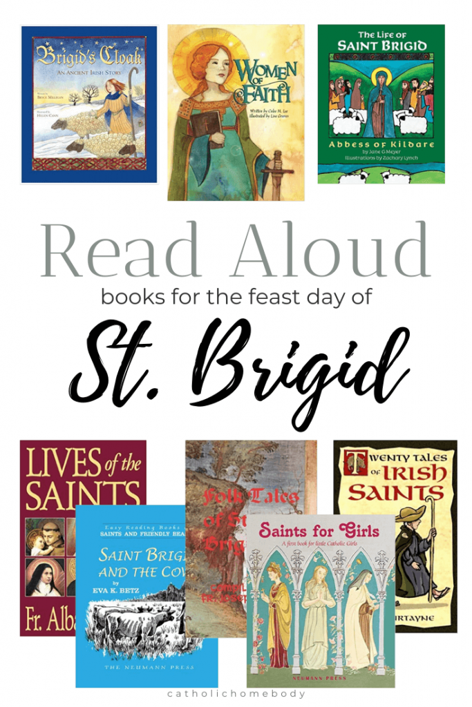 Books to read for Saint Brigid's feast day