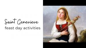 saint genevieve feast day activities for kids