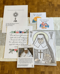 printables for Saint Katherine Drexel