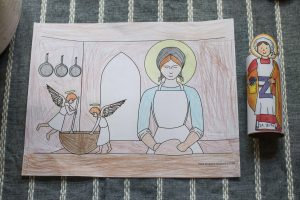 St Zita coloring pages
